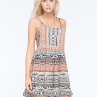 PATRONS OF PEACE Strappy Babydoll Dress   Patrons of Peace