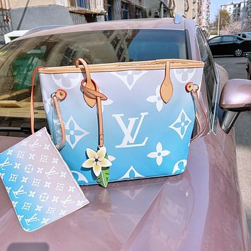 Louis Vuitton LV By the Pool Neverfull Shopping Bag Shoulder Bag Wallet Two-Piece Bag