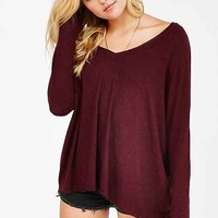 Silence + Noise Felicity V-Neck Top