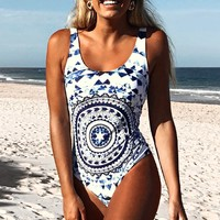 Cupshe Love Her First Print One-piece Swimsuit