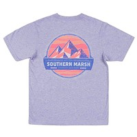 YOUTH Branding Collection - Summit Tee in Washed Berry by Southern Marsh
