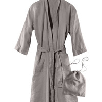 Linen Bathrobe - from H&M
