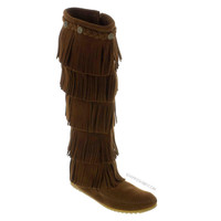 Minnetonka 5-Layer Fringe Boot on Sale for $97.95 at HippieShop.com