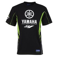 Moto GP Team Fashion Black Men's Racing Jersey For Yamaha T-shirt Riding Off-Road Motorcycle Clothes