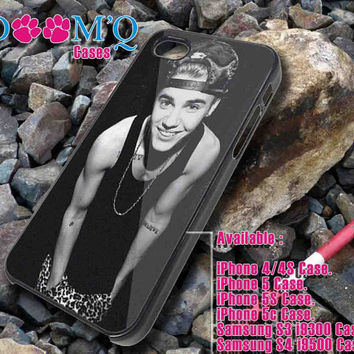 justin bieber smile iPhone case, iPhone 4/4S, 5, 5S, 5C Case, Samsung S3, S4 Case By Doomqcases for Accessories beautiful