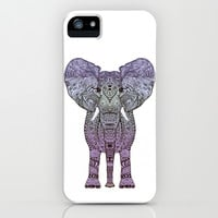 *** PURPLE AZTEC ELEPHANT GIRL ***  iPhone & iPod Case for iphone 5c + 5s + 5 + 4s + 4 + 3gs + 3g + ipod + samsung galaxy !!!