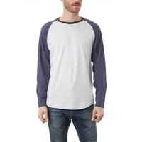 Jaylen Raglan Long Sleeve Tee