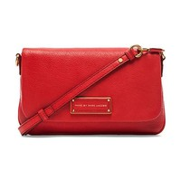 Marc by Marc Jacobs Too Hot to Handle Flap Percy Bag in Red