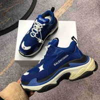 DCCK Balenciaga Popular Women Men Casual Running Jogging Shoes Couple Sneakers