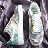 NIKE Air Force 1 Breathable low-end casual sneakers