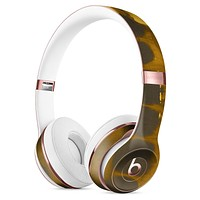 Dark Gray and Gold Cavern Full-Body Skin Kit for the Beats by Dre Solo 3 Wireless Headphones