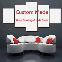 5 Panels Modular Custom Made Picture Home Room Decor Picture Canvas Paintings on Canvas Wall Art for Home Decorations Wall Decor
