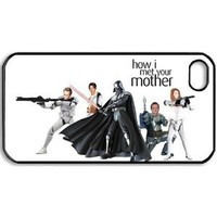 Custom Creative How I Met Your Mother poster case for Iphone 4/4s best cover show 1wa145
