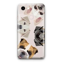 Dogs with Attitude - Google Pixel 3 Clear Case
