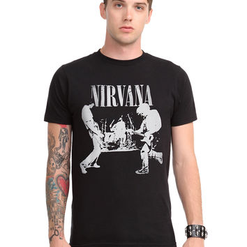 Nirvana Band Silhouette T-Shirt