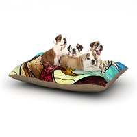 """Mandie Manzano """"In the arms of the Angel"""" Dog Bed"""