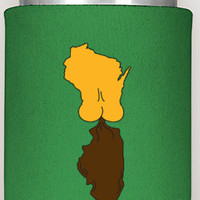 """4 can coozies, """"It's A Green Bay Thing"""", free shipping, can coozies, koozies, the360shop, christmas gifts, man gift, men, green bay,  packer"""