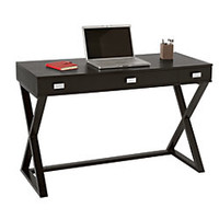 See Jane Work Kate Writing Desk 30 H x 47 16 W x 20 D Black by Office Depot