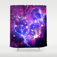 Galaxy. Shower Curtain by Matt Borchert