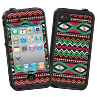 Exotic Tribal Skin  for the iPhone 4/4S Lifeproof Case by skinzy.com