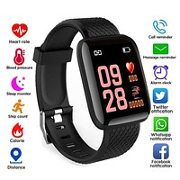 Smart Watches IP67 Waterproof Blood Pressure Heart Rate Monitor Watch Sport Smartwatch For...