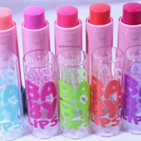 New! Maybelline Baby Lips Pink'd Collection for Spring 2014