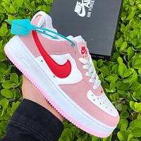 NIKE Air force 1 af1 men's and women's letter printed logo low-top sneakers Shoes #4