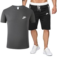 Nike new T-shirt comfortable and popular sports trend suit