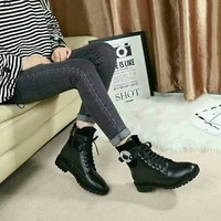 JIMMY CHOO  Women Casual Shoes Boots fashionable casual leather Women Heels Sandal Shoes