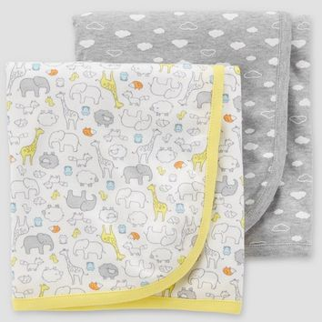 Baby Blanket - Just One You® made by carter's Gray One Size