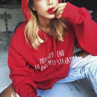 Oversized Fit Graphic Hoodie