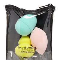 FOREVER 21 Mixed Makeup Sponge Set Mint/Multi One