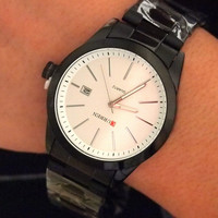 Trendy Designer's Great Deal New Arrival Awesome Gift Good Price Stainless Steel Quartz Men Stylish Watch [6542556739]
