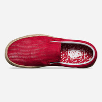 VANS Mesh Slip-On Espadrille Womens Shoes | Sneakers