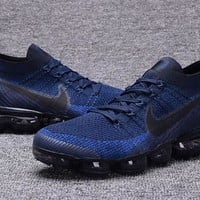 """Nike Air VaporMax Flyknit"" Men Sport Casual Fashion Weave Air Cushion Running Shoes Sneakers"