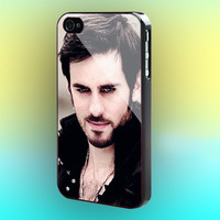 Once Upon a Time Captain Hook Believe Print on cover for Samsung Galaxy case. Select an option for device and colour