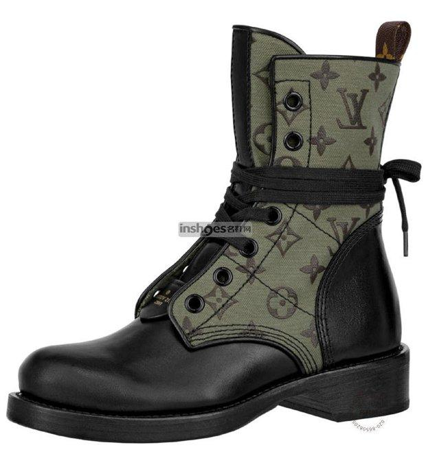 Image of Louis Vuitton LV Women Leather High Boots Shoes 0722