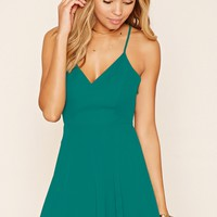 Strappy Chiffon Cami Dress