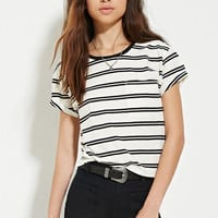Boxy Striped Tee | Forever 21 - 2000152713