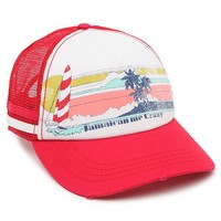 Billabong Jamaican Love Trucker Hat - Womens Hat - Red - One