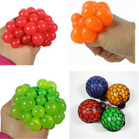 1Pc 2016 Hot Cute Anti Stress Face Reliever Grape Ball Autism Mood Squeeze Relief Healthy Toy Funny Geek Gadget Vent Toy