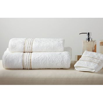 New York Embroidered Bath Towels by Dea Linens