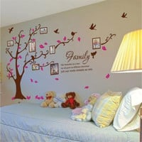 Photo Frame Wall Decals - Family photo Wall sticker - Picture Frames wall decal