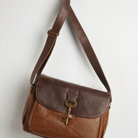 Colorblocking Keystone State Bag in Whiskey Molasses by ModCloth