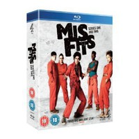 Misfits - Series 1-2 Box Set [Blu-ray]: Amazon.co.uk: Robert Sheehan, Lauren Socha, Nathan Stewart-Jarett, Antonia Thomas, Iwan Rheon, Tom Green, Tom Harper, Owen Harris: Film  TV