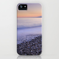 Soft waves iPhone & iPod Case by Guido Montañés