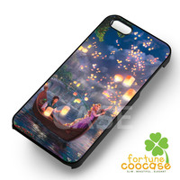 Disney rapunzel tangled princess long hair in night lanterns-1nay for iPhone 6S case, iPhone 5s case, iPhone 6 case, iPhone 4S, Samsung S6 Edge