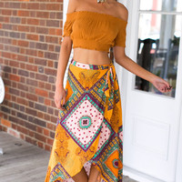 Summer Style Print Bohemia Skirt Full Skirts Sexy Asymmetrical Long Maxi Resort Wear Casual High Waist Saia Beach Gypsy Vestidos