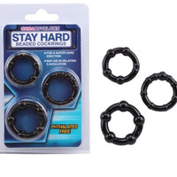 Classic Cock Rings Silicone 3PCS Set penis extension and Delay Ejaculation Penis Rings Adult Sex Toys For Men Sex Products