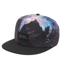 Afends Mountain Wolf Hat - Mens Backpack - Black - One